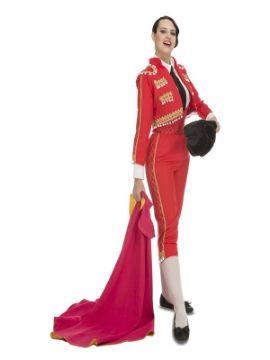 disfraz de torera deluxe para mujer