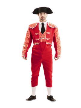 disfraz de torero rojo para hombre