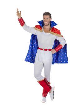disfraz de trapecista de circo hombre