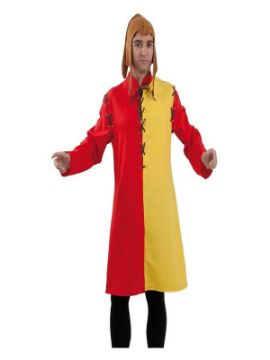 disfraz de tunica medieval adulto