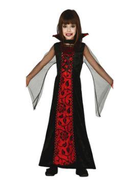 disfraz de vampira gotica para niña