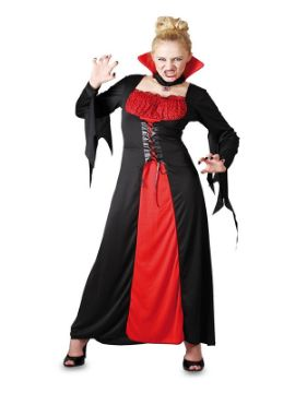 disfraz de vampiresa barata para mujer