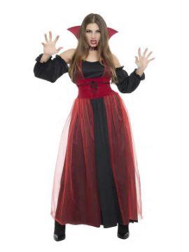 disfraz de vampiresa con tul mujer