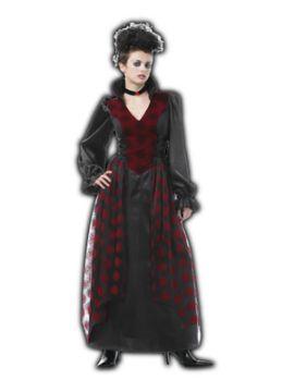 disfraz de vampiresa gotica para mujer adulto