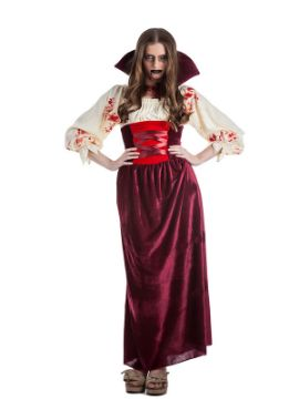 disfraz de vampiresa sangrienta mujer