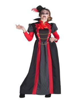 disfraz de vampiresa victoriana largo mujer