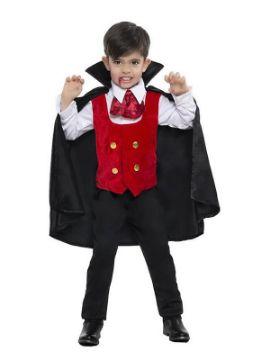 disfraz de vampiro con capa para niño