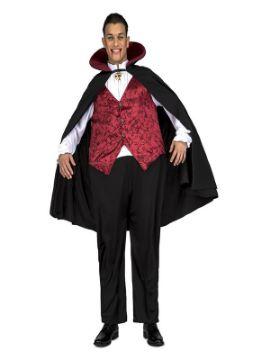 disfraz de vampiro gordo para hombre