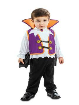 disfraz de vampiro lila para niño