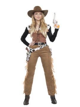 disfraz de vaquera texas mujer