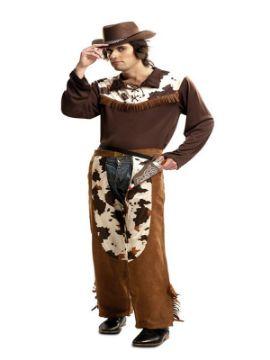 disfraz de vaquero marron para hombre
