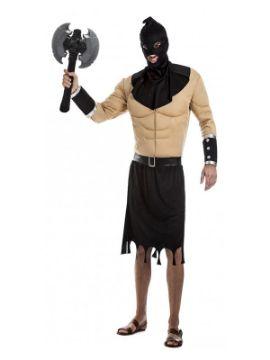disfraz de verdugo musculoso para hombre