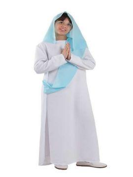disfraz de virgen maria niña infantil
