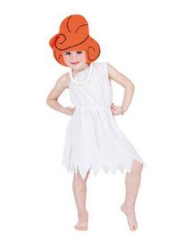 disfraz de wilma picapiedra niña varias tallas