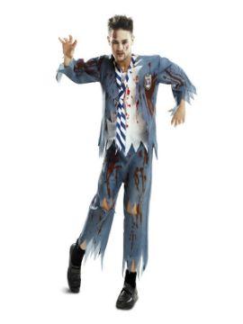 disfraz estudiante zombie chico para hombre