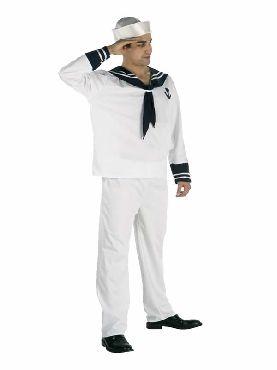 disfraz marinero blanco hombre