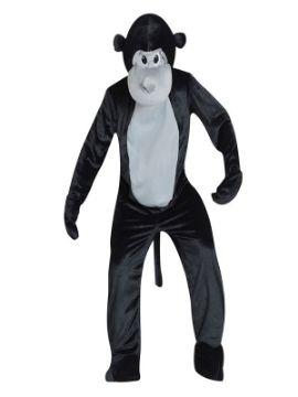 disfraz mascota mono para hombre