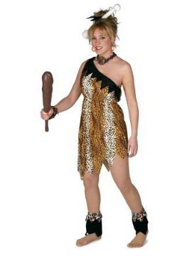 disfraz mujer prehistorica adulto