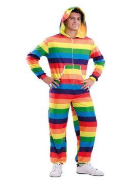 disfraz o mono arcoiris para adulto