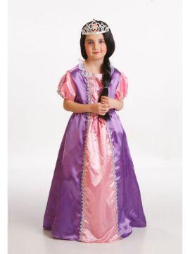 disfraz princesa morada para niña