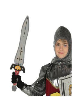 espada medieval de eva 53 cm