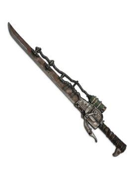 espada steampunk de foam 85 cm