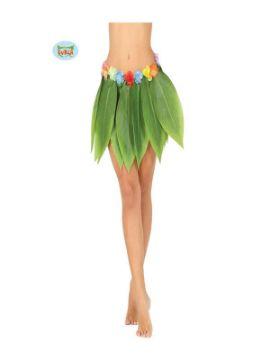falda hawaiana de hojas 38 cms