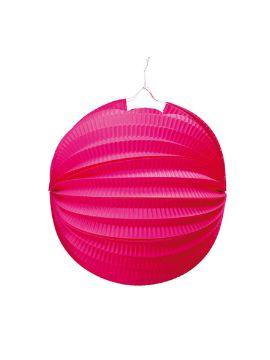 farolillo rosa esferico 26 cm