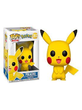 figura funko pop pokemon pikachu