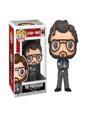 figura funko pop el profesor la casa de papel