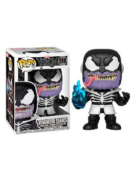 figura funko pop marvel venom venomized thanos