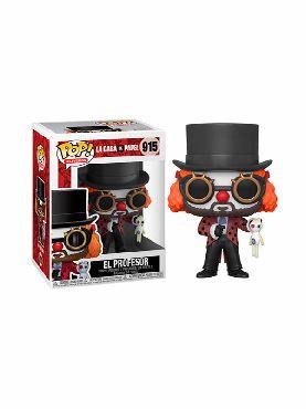 figura funko pop professor o clown la casa de papel