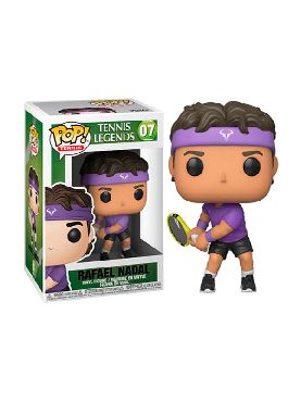 figura funko pop rafael nadal tennis legends