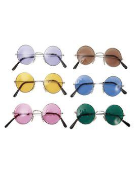 gafas de hippie redondas en colores surtidos