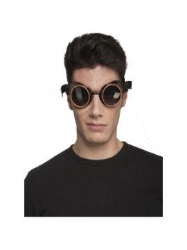 gafas de steampunk negras tintadas