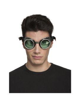 gafas de steampunk verdes