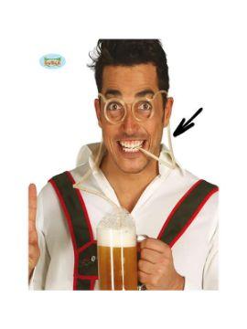 gafas divertidas para bebida