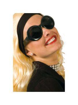 gafas jackie negro hippie