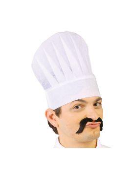 gorro de cocinero papel adulto