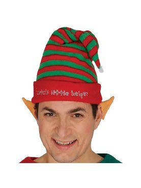 gorro de elfo con rayas