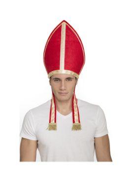 gorro de obispo adulto