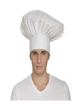 gorro grande de chef adulto