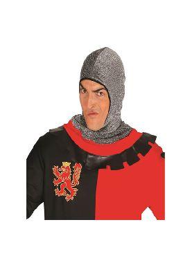 gorro malla medieval
