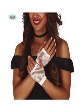 guantes malla blancos 11 cms