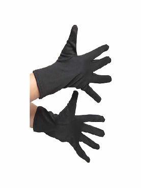 guantes negros 18 cm infantiles