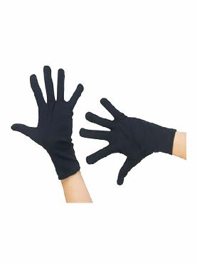 guantes negros 25 cm cortos
