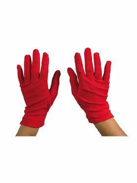 guantes rojos 25 cm cortos