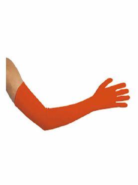guantes rojos 45 cm largos extras