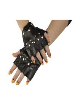 guantes sin dedos de motero