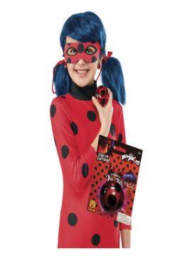 kit de ladybug con yo yo y pendientes para niña